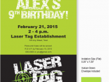 Laser Tag Birthday Invitation Templates Free 9 Best Images Of Laser Tag Invitations Free Printable
