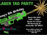 Laser Tag Birthday Invitation Templates Free Laser Tag Birthday Party Invitations Template Free
