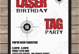 Laser Tag Birthday Invitation Templates Free Laser Tag Party Invitations Birthday Party