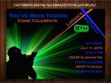 Laser Tag Birthday Invites Free Laser Tag Invitation Templates