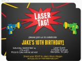 Laser Tag Birthday Invites Laser Tag Birthday Invitations Free Printable Best Party