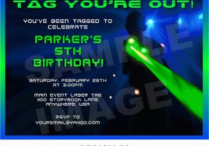 Laser Tag Birthday Invites Laser Tag Birthday Party Invitations Ideas New Party Ideas