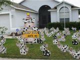 Lawn Decorations for Birthdays Birthday Yard Flocking Decorations Tampa Fl Call