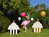 Lawn Decorations for Birthdays Home Yard Announcements