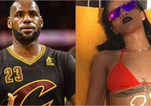 Lebron James Birthday Card Watch Happy Birthday Lebron From that Rihanna Bikini