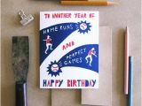 Left Field Birthday Cards Left Field Cards Letterpress Baseball Cards Postcard Size