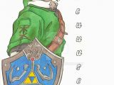 Legend Of Zelda Birthday Card Legend Of Zelda Birthday Card by Banjo Bear On Deviantart