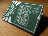 Legend Of Zelda Birthday Card Legend Of Zelda Hyrule Birthday Card Poweredbypixels