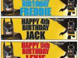 Lego Batman Happy Birthday Banner 2 Personalised 36 Quot X 11 Quot Lego Batman Birthday Banners Any