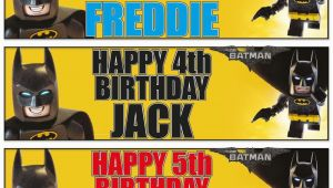Lego Batman Happy Birthday Banner 2 Personalised 36 Quot X 11 Quot Lego Batman Birthday Banners Any