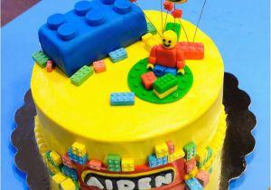 Lego Birthday Cake Decorations Gray Barn Baking