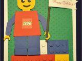 Lego Birthday Card Ideas 1stampingnightowl Lego Birthday Card