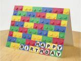 Lego Birthday Card Ideas 3d Paper Lego Birthday Card Allfreepapercrafts Com