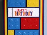 Lego Birthday Card Ideas A Crafty Cat Boys Lego Birthday Card
