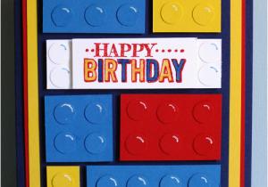 Lego Birthday Card Ideas A Crafty Cat Boys