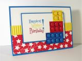Lego Birthday Card Ideas Marelle Taylor Stampin 39 Up Demonstrator Sydney Australia