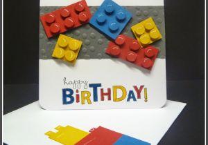 Lego Birthday Card Ideas My Sandbox