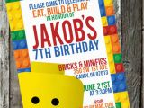 Lego Birthday Invitation Wording Everything is Awesome It 39 S A Lego Party B Lovely events