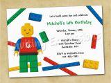 Lego Birthday Invitation Wording Lego Birthday Invitations Free Ideas Egreeting Ecards