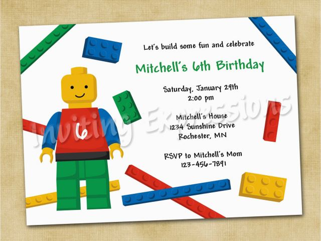 Download By SizeHandphone Tablet Desktop Original Size Back To Lego Birthday Invitations Online