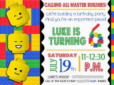 Lego Birthday Invitations Online Smile Like You Mean It Portfolio