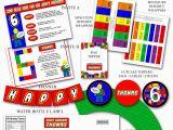 Lego Birthday Party Invitations Online 9 Best Images Of Lego Birthday Printables Lego Party