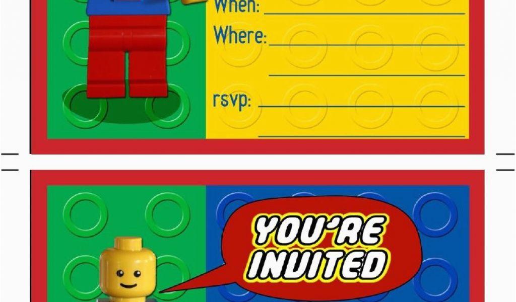 picture about Printable Lego Birthday Invitations identify Lego Birthday Celebration Invites On-line Printable Lego
