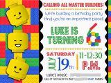 Lego Birthday Party Invitations Online Smile Like You Mean It Portfolio