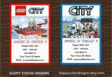 Lego City Birthday Party Invitations 5 Best Images Of Lego City Birthday Invitations Printable