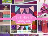 Lego Friends Birthday Decorations Lego Friends Birthday Party