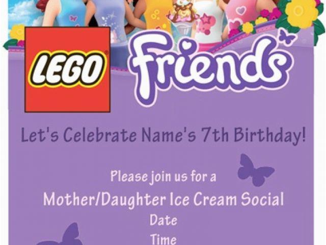 Download By SizeHandphone Tablet Desktop Original Size Back To Lego Friends Birthday Invitations