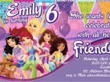 Lego Friends Birthday Invitations Lego Friends Party Invitations Oxsvitation Com