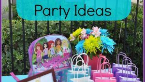 Lego Friends Birthday Party Decorations Lego Friends Birthday Party Ideas the Mama Mary Show
