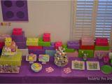 Lego Friends Birthday Party Decorations Lego Friends Pink Purple Girl Birthday Party Ideas