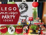 Lego Ninjago Birthday Party Decorations A Lego Ninjago Birthday Party Spaceships and Laser Beams