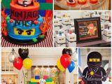 Lego Ninjago Birthday Party Decorations Kara 39 S Party Ideas Ninjago themed Birthday Party Planning