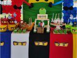 Lego Ninjago Birthday Party Decorations Lego Ninjago Ninja Birthday Party Ideas Photo 3 Of 7