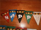 Lego Ninjago Happy Birthday Banner Little Sprouts by Lindsay Lego Ninjago Birthday Party