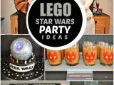 Lego Star Wars Birthday Decorations A Boy S Lego Star Wars 6th Birthday Party Spaceships and