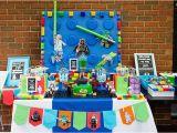 Lego Star Wars Birthday Decorations Kara 39 S Party Ideas Head Table From A Lego Star Wars