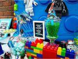 Lego Star Wars Birthday Decorations Kara 39 S Party Ideas Star Wars Lego Birthday Party Kara 39 S