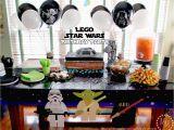Lego Star Wars Birthday Decorations Lego Star Wars Birthday Party the Scrap Shoppe