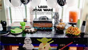 Lego Star Wars Birthday Decorations Lego Star Wars Birthday Party the Scrap Shoppe