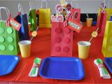 Lego themed Birthday Party Decorations 35 Lego theme Party Table Decoration Ideas Table