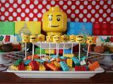 Lego themed Birthday Party Decorations Elegant Affairs Lego Birthday Party