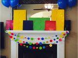 Lego themed Birthday Party Decorations Kara 39 S Party Ideas Bright Colorful Lego Birthday Party