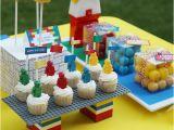 Lego themed Birthday Party Decorations Kara 39 S Party Ideas Lego themed Birthday Party Kara 39 S
