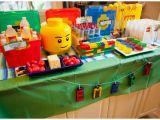 Lego themed Birthday Party Decorations Lego Birthday Party Ideas