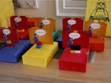 Lego themed Birthday Party Decorations Lego Birthday Party