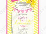 Lemonade Birthday Party Invitations Pink Lemonade Printable Invitation 1 Diy